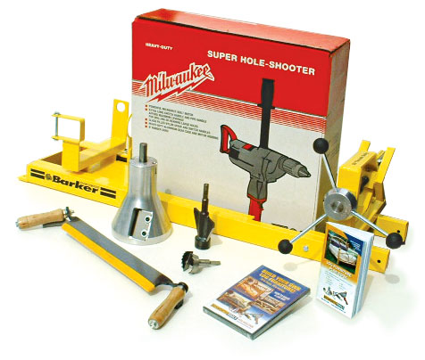 Lumberjack Tools Log Furniture Tool Kit